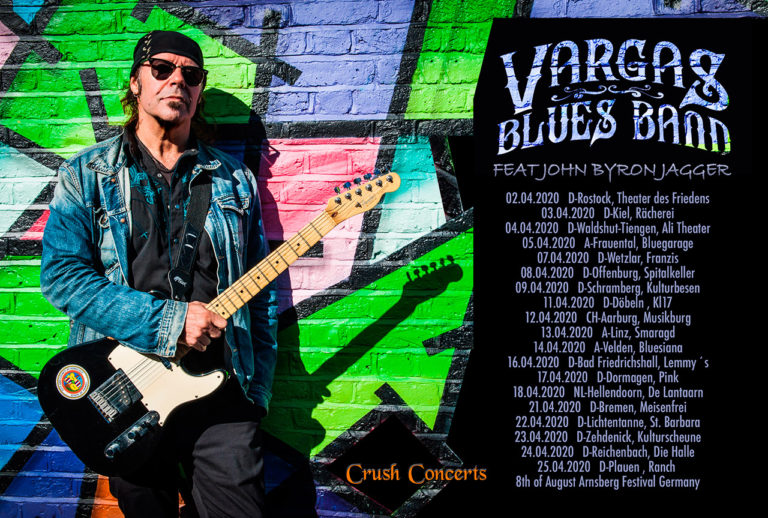 2020-European Tour-Vargas Blues Band