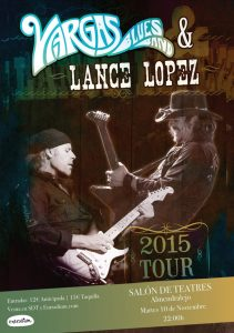 Vargas Blues Band+Lance Lopez
